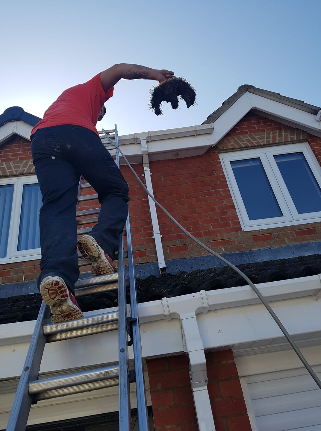 We are your local Gutter, Window & UPVC specialist cleaners
